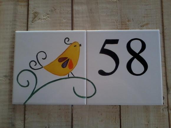 Azulejo Numero Casa Of N Mero De Casa Oficina 778 Elo7