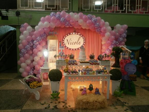 decoracao festa galinha pintadinha rosa: Festas > Festa Provençal > Decoração Galinha Pintadinha