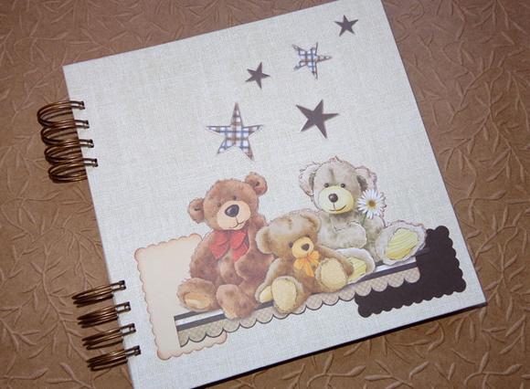 Lbum ursinhos p ginas decoradas talento criativo elo7 for Paginas decoradas