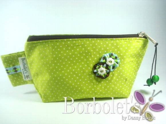 N�cessaire Mini Puffbags Greeny