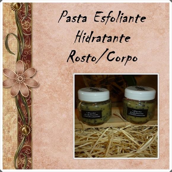 Pasta Esfoliante e Hidratante
