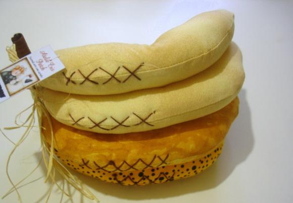 Banana tecido
