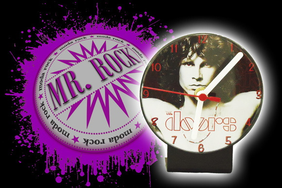 Rel�gio de Mesa Banda The Doors