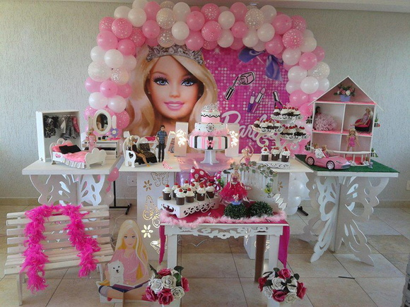 decoracao festa barbie : decoracao festa barbie:decoracao-barbie