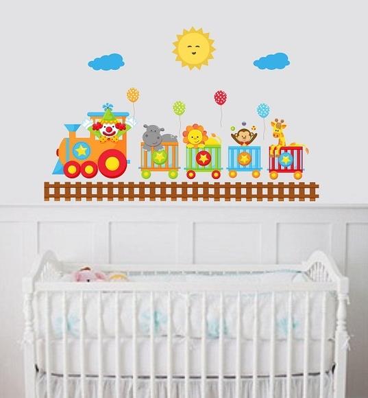 Faixa De Adesivo Para Quarto De Bebe ~ Adesivo para quarto de beb?  ADESIVOS COMPRAR E COLAR  Elo7