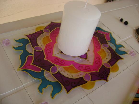 Porta velas e porta incenso