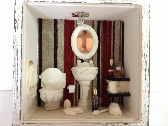 decoracao quadro no banheiro – Doitricom -> Decoracao De Banheiro Com Quadro