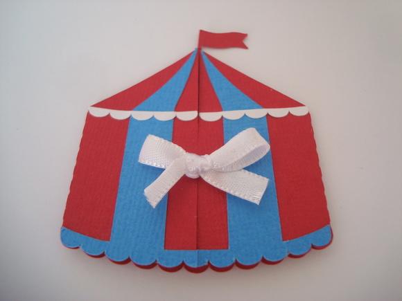 Convite tema Circo