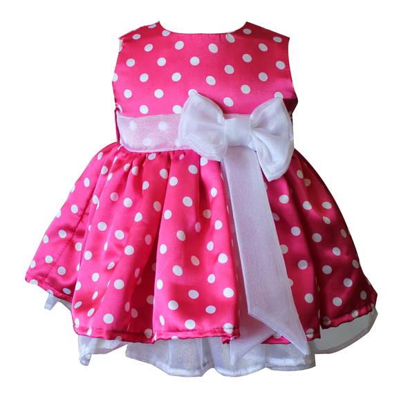 Vestidos de Minnie rosado para bebé - Imagui