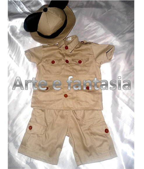 fantasia infantil safari mickey