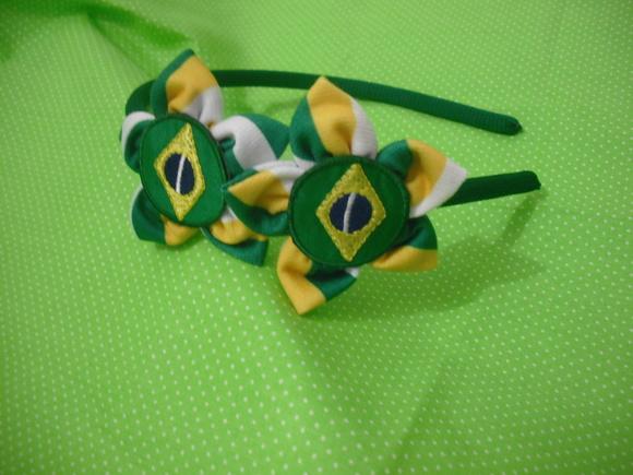 Tiara Bandeira do Brasil Copa