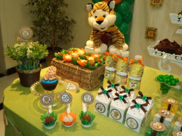 decoracao festa safari:Festa Tema Safari