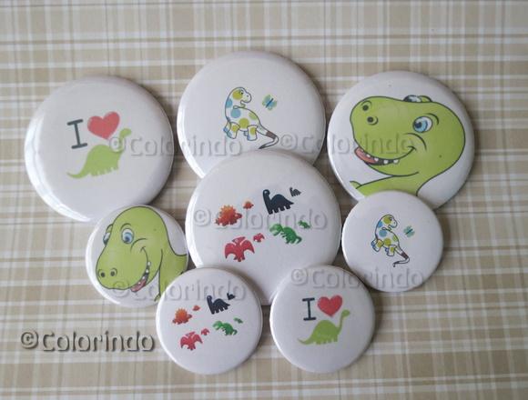 Bottons Personalizados - Dinossauros