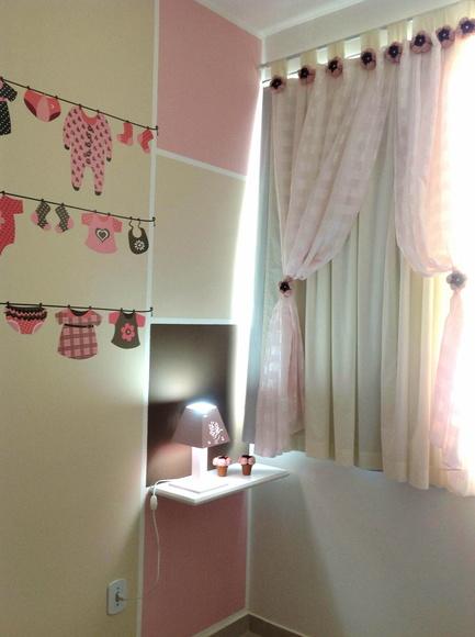 decoracao quarto de bebe jardim encantado : decoracao quarto de bebe jardim encantado:Cortina Jardim Encantado – Sophia Baby
