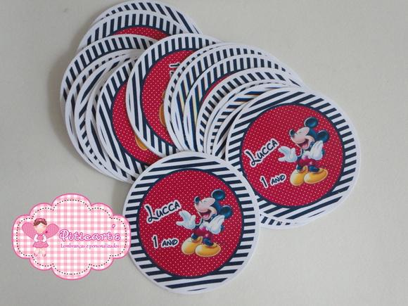 R�tulo Latinha Mickey 01