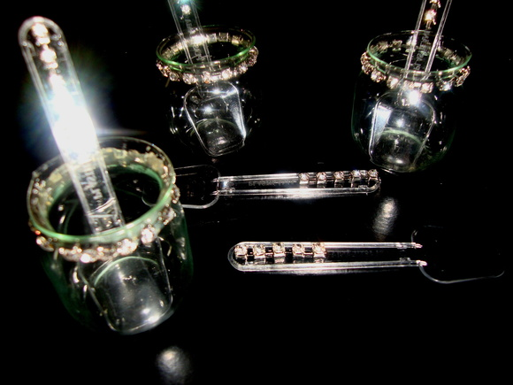 Petit verre Bojudinho decorado c/ strass