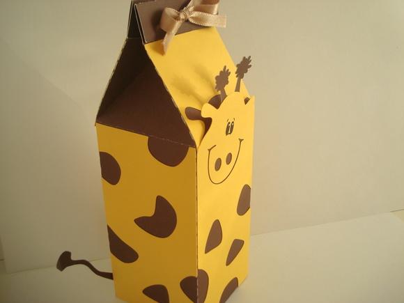 Caixinha Milk P Girafa