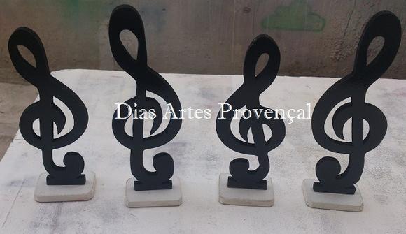 Notas Musicais  Dias Artes Provençal  Elo7