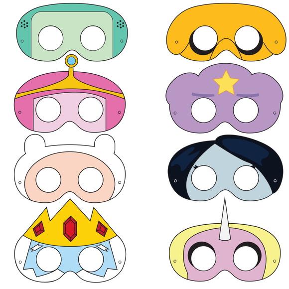 Mascaras Hora de Aventura