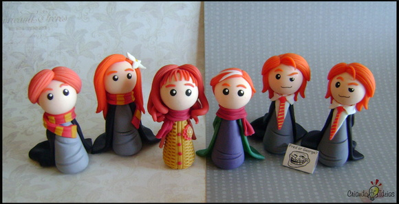 Cole��o Chibi Potters - Harry Potter