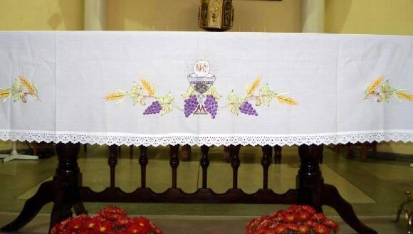 In  Cio   Religiosos   Outros   Toalha Para Altar   Ref 004