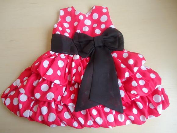 Vestido minnie balon�