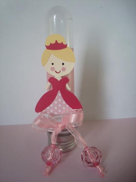 Tubete tema Princesa