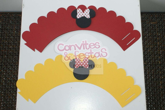 Wrapper - Saia Cupcake Minnie