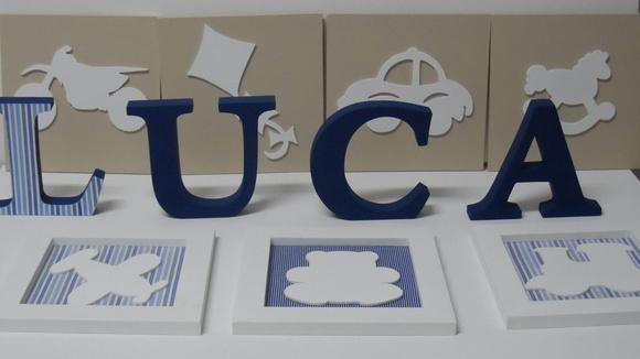 Kit Menino Luca Azul.