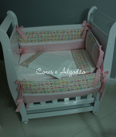 Kit Mini Ber�o corujinha