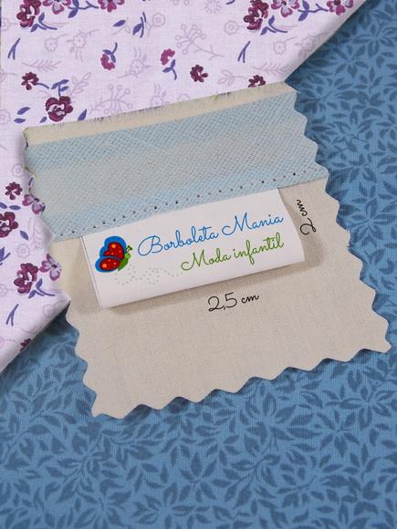 Etiqueta bandeirinha para tecido