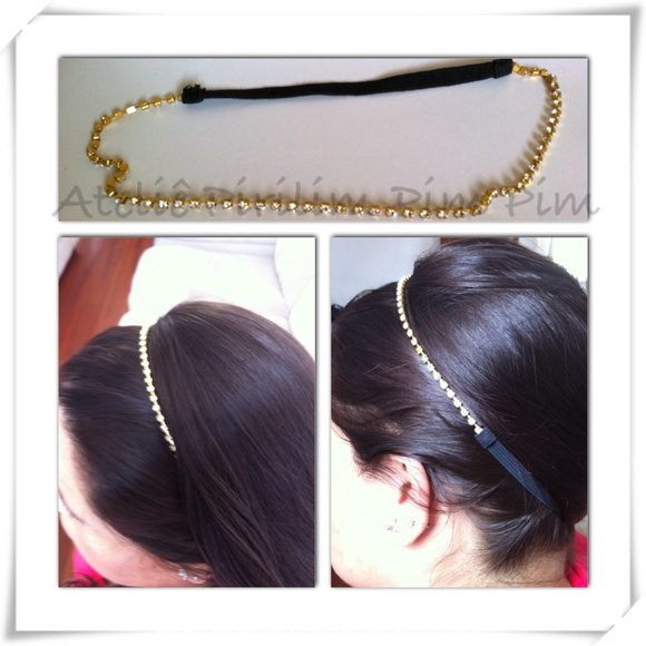 Head Band de Strass - HB004