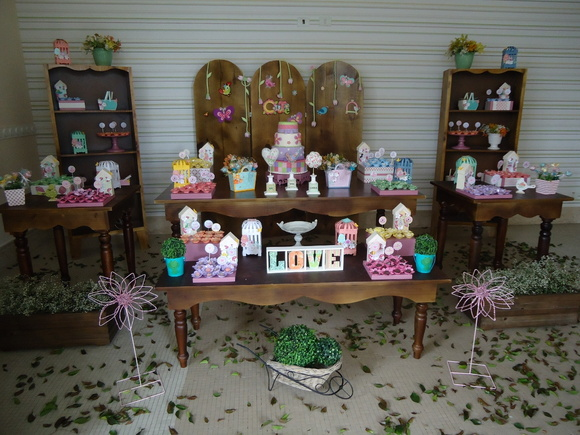 decoracao jardim das borboletas:Decoração Festa Jardim das Borboletas
