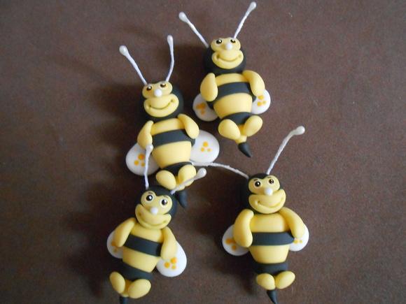 Aplique abelhinha