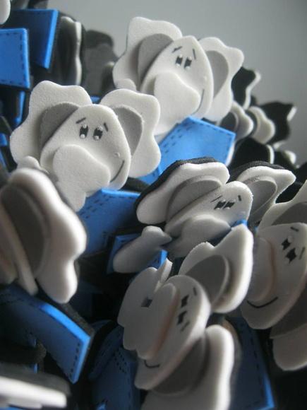 Ponteira Elefante Branco Judoca