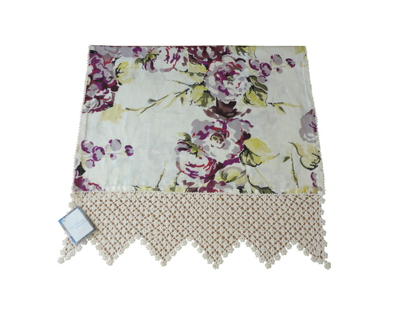 decoracao toalha lavabo:Toalha para Lavabo com crochê