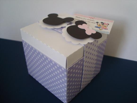 Caixinha tema Disney Baby