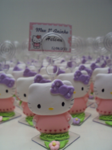 PORTA RECADO HELLO KITTY
