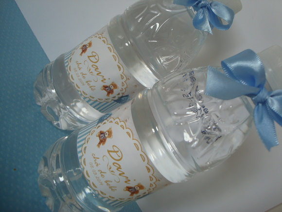 Garrafa de água personalizada Ursinho