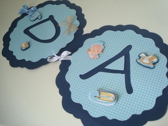 Bandeirola Chá de Bebê Ursinho
