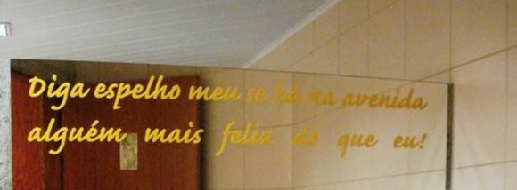 Artesanato Gaucho ~ Adesivo de espelho Paredes Decoradas Garantia de 5 anos Elo7