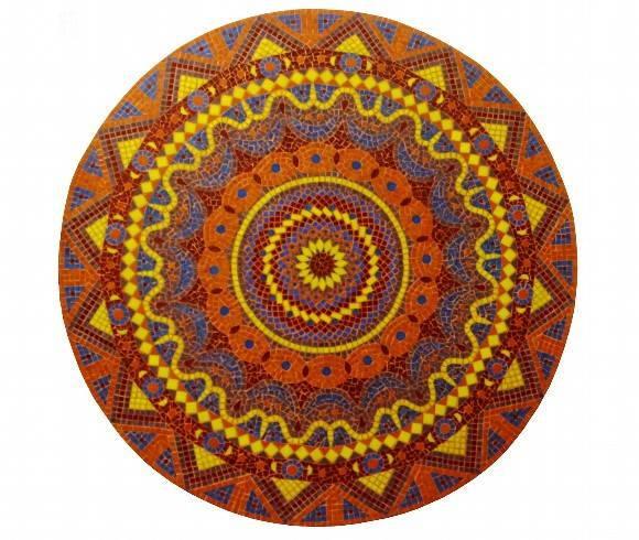 Mandala Orange