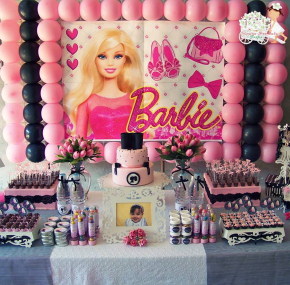 Decora��o proven�al Barbie