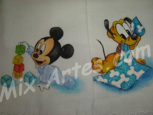 """Fralda """"Baby Disney"""""""