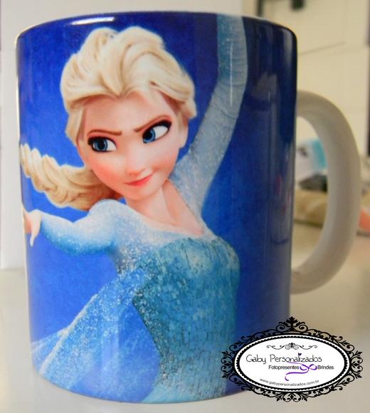 Caneca Ceramica Frozen