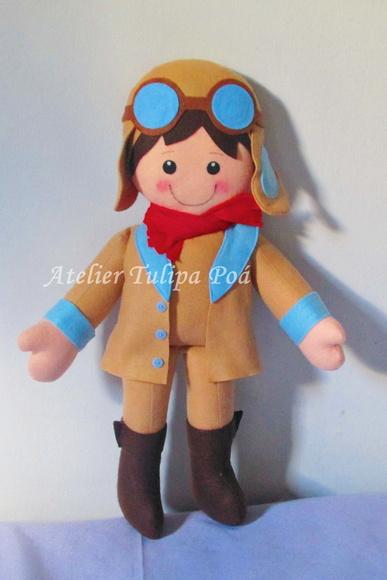 Boneco Aviador ( O Pequeno Pr�ncipe)