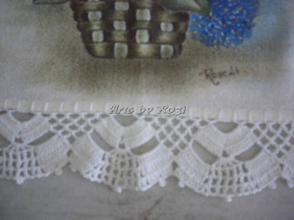 Croche Bico Crochet Para Toalha Banho Kamistad Celebrity Pictures