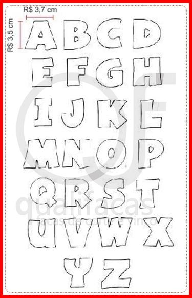 Faca de corte Alfabeto 2