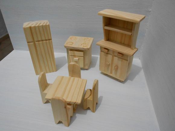 kit decoracao cozinha : kit decoracao cozinha:kit moveis miniaturas- cozinha 8 peças