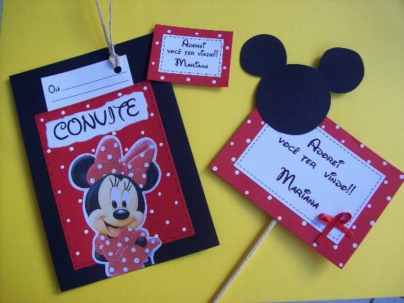 CONVITE SCRAPBOOK - MINNIE 2